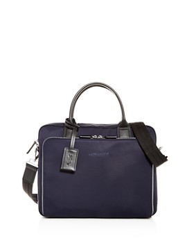 Longchamp - Baxi Toile Briefcase