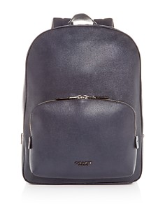 COACH - Kennedy Crossgrain Leather Backpack