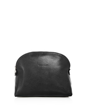 Longchamp - Le Foulonne Leather Toiletry Kit