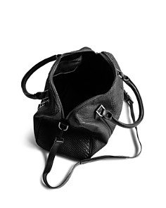 Zadig & Voltaire - Sunny Small Snake-Embossed Leather Shoulder Bag