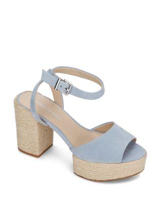 Block Heel Platform Sandals