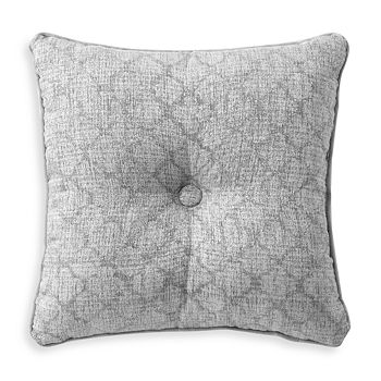 "Waterford - Aidan Pleated Square Decorative Pillow, 18"" x 18"""