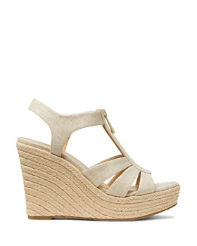 MICHAEL Michael Kors - Women's Berkley Woven Espadrille Wedge Sandals