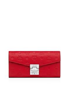 MCM - Patricia Monogram Leather Chain Wallet