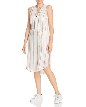 Splendid Dresses STRIPED MIDI DRESS