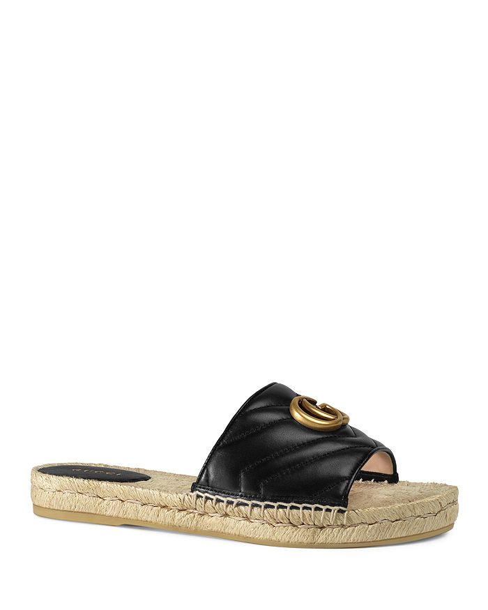 Gucci - Women's Leather Espadrille Sandals