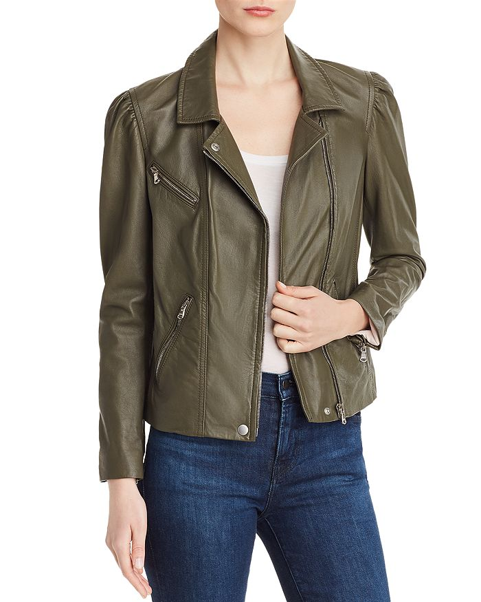 Rebecca Taylor - Leather Biker Jacket