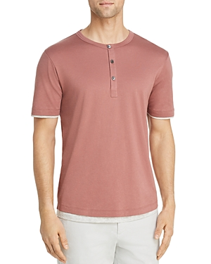 Theory Double-Layer Henley - 100% Exclusive