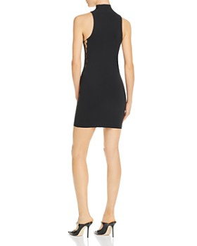 alexanderwang.t - Mock-Neck Mini Dress