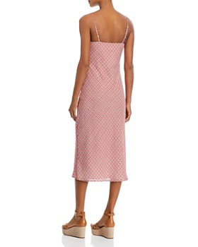 C/MEO Collective - Collective Counting All Plaid Slip Dress