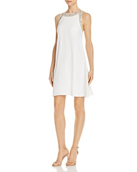 0fdaff311c90 Aidan Mattox - Embellished Shift Dress - 100% Exclusive ...
