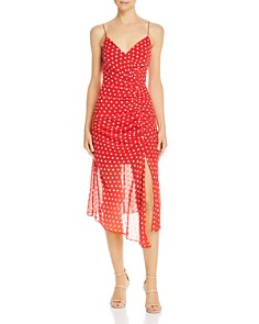 Finders Keepers - Ruched Blossom Dress