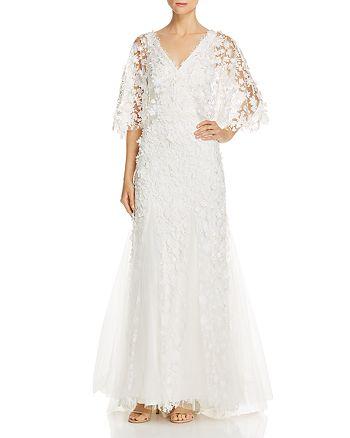 Tadashi Shoji - Floral Embellished Gown