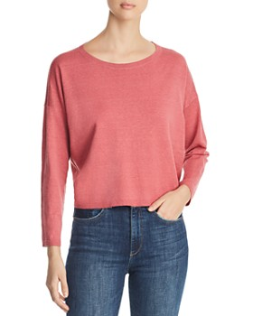 Eileen Fisher - Lightweight Cropped Sweater