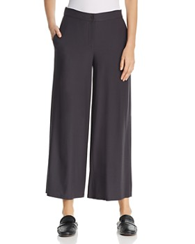 66b604834e81a1 Eileen Fisher - Wide-Leg Cropped Pants ...