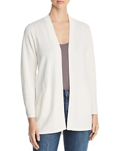 Eileen Fisher Petites - Textured Open Cardigan