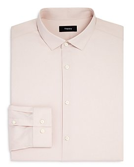 Theory - Solid Slim Fit Dress Shirt