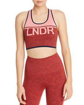 LNDR - A-Team Seamless Logo Sports Bra