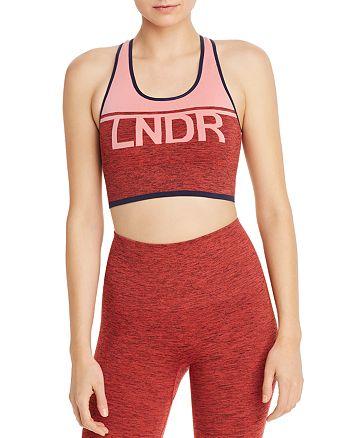 LNDR - A-Team Seamless Logo Sports Bra