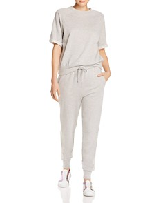 Splendid - Terry-Stripe Jogger Pants