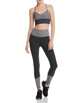 Alo Yoga - Alo Yoga Lush Sports Bra & Lounge Leggings