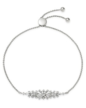 Bloomingdale's - Diamond Mosaic Bolo Bracelet in 14K White Gold, 0.50 ct. t.w. - 100% Exclusive