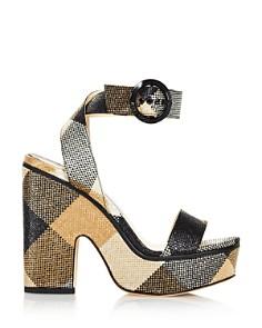 Jimmy Choo - Women's Aimee 125 Gingham Platform Sandals
