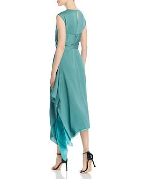 BOSS - Dewy Layered Handkerchief Hem Dress