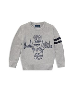 Ralph Lauren - Boys' New York Polo Bear Sweater - Little Kid
