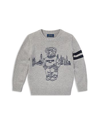 Ralph Lauren - Boys' New York Polo Bear Sweater - Little Kid