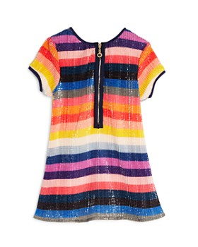 Hannah Banana - Girls' Rainbow-Sequin Shift Dress, Little Kid -  100% Exclusive