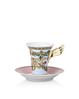 Versace - Versace Butterfly Garden Coffee Cup & Saucer