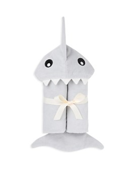 Elegant Baby - Boys' Shark Bath-Wrap Towel - Baby