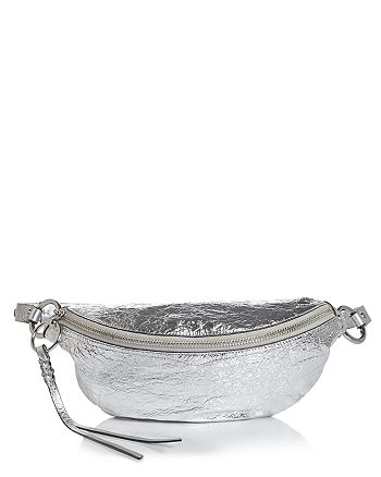 Rebecca Minkoff - Bree Metallic Belt Bag