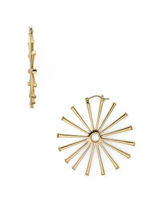 Horseshoe Nail Earrings by Tory Burch