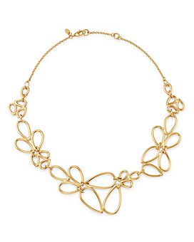 "Bloomingdale's - Pear-Shaped Link Necklace in 14K Yellow Gold, 17"" - 100% Exclusive"
