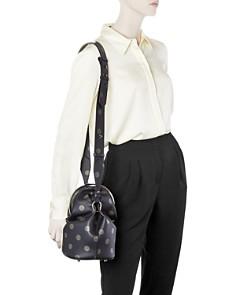 Max Mara - Cecile Polka-Dot Leather Shoulder Bag