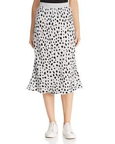 ATM Anthony Thomas Melillo - Cheetah-Print Silk Skirt