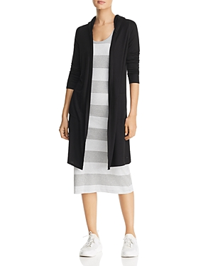 Marc New York PERFORMANCE HOODED OPEN DUSTER CARDIGAN