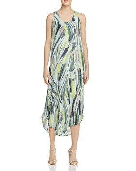 NIC and ZOE - Palm Print Midi Dress