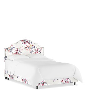 Sparrow & Wren - Cameron Nail Button Notched Bed Collection
