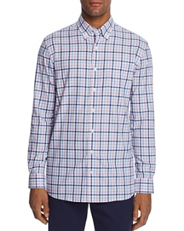 Johnnie-O - Gaffton Plaid Classic Fit Button-Down Sports Shirt