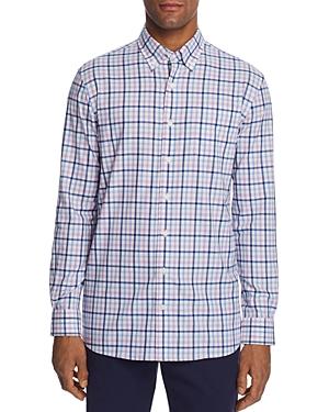 Johnnie-O T-shirts GAFFTON PLAID CLASSIC FIT BUTTON-DOWN SPORTS SHIRT