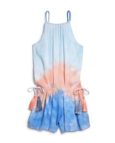 Vintage Havana - Girls' Tassel Romper - Big Kid
