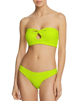 Peixoto - Amelia Bandeau Bikini Top & Bella Bikini Bottom