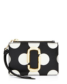 MARC JACOBS - Polka Dot Top Zip Multi Wallet