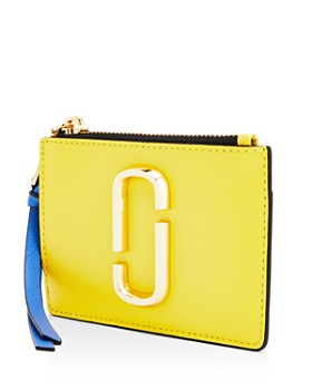 MARC JACOBS - Top Zip Leather Multi Card Case