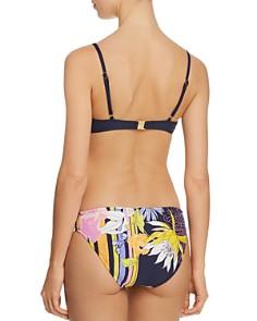 Trina Turk - Bal Harbour Floral Bralette Bikini Top & Bal Harbour Floral Shirred Side Hipster Bikini Bottom