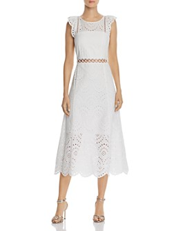 Sam Edelman - Eyelet Midi Dress