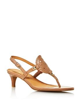 Jack Rogers - Women's Georgia Kitten Heel Sandals